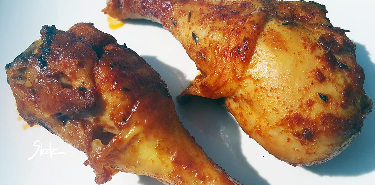 Pečen piščanec marinada Sketa.SI