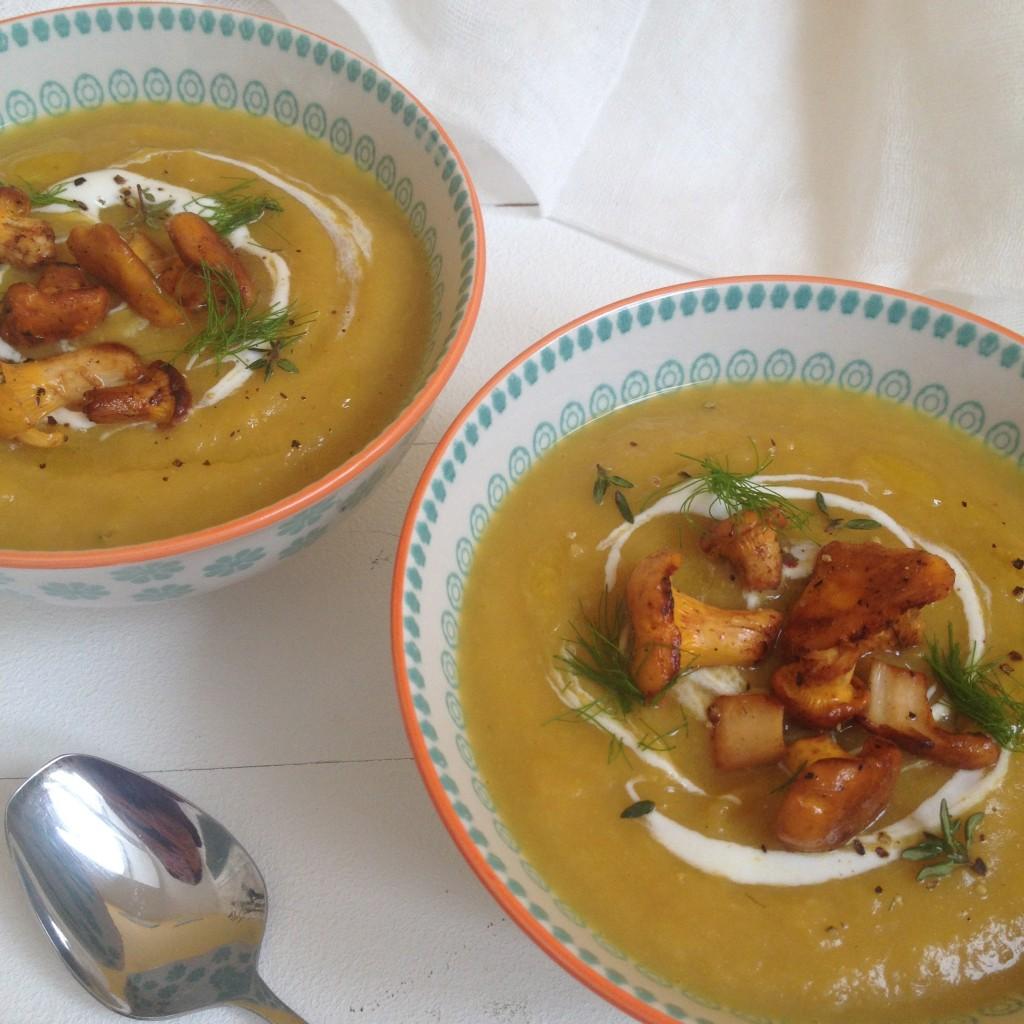 Kremna lisičkina juha * Cook, Eat&Smile