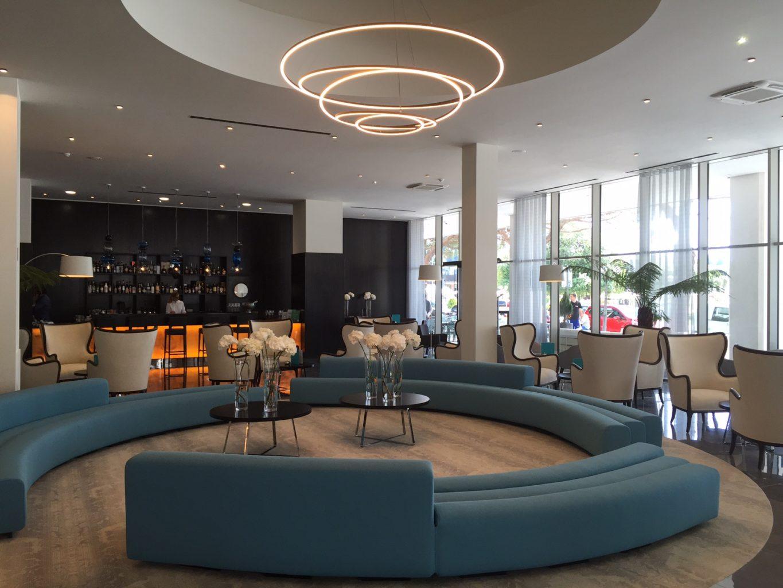 Vabljiv interier portoroškega hotela Slovenija