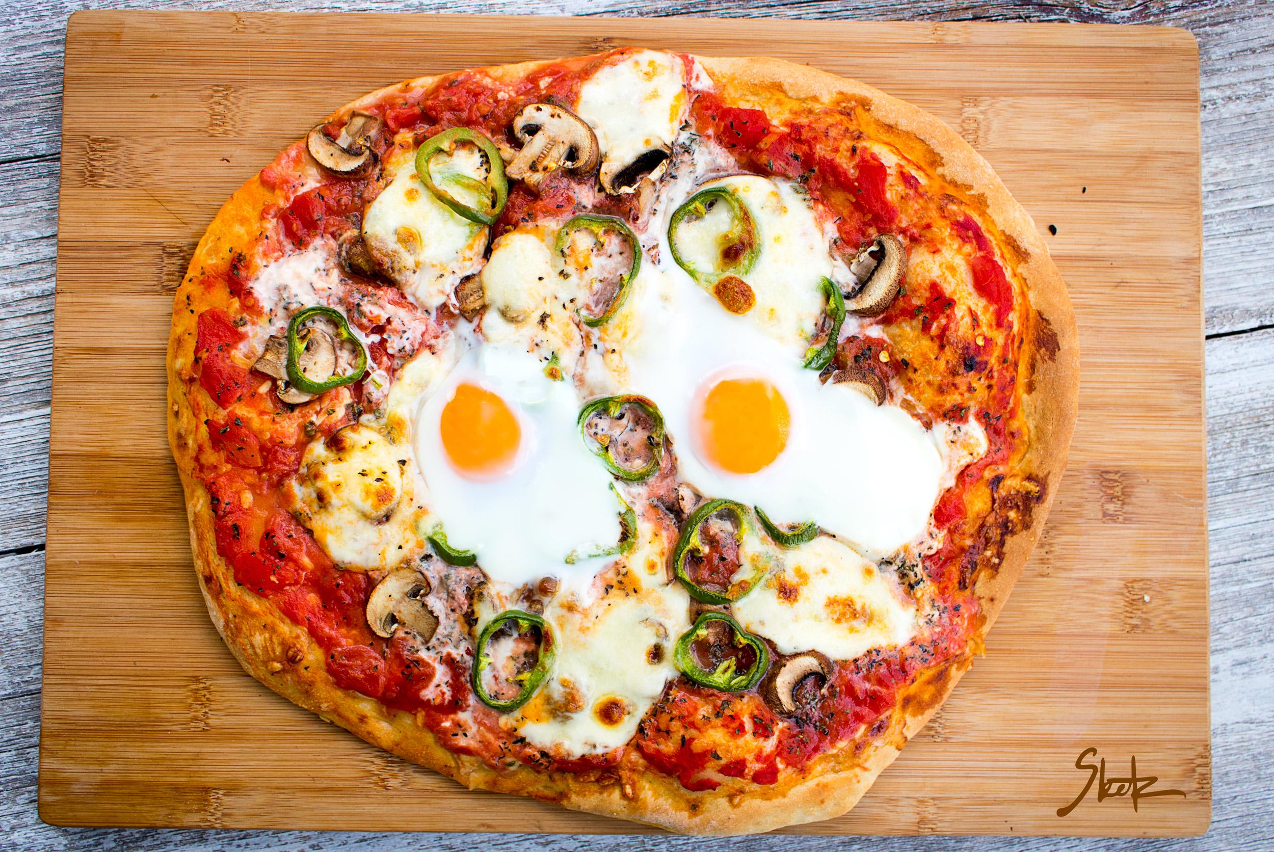 Rustikalna zelenjavna pizza
