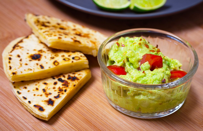 Enostaven guacamole