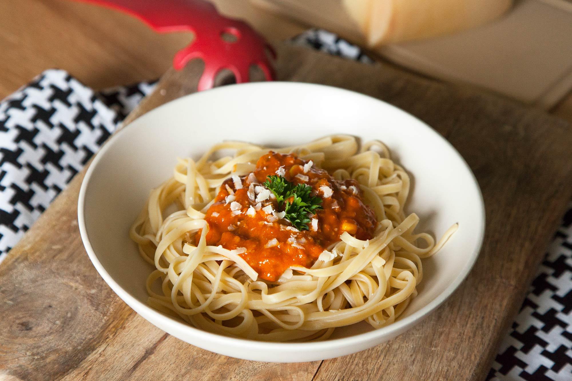 Špageti bolognese po vegetarijansko