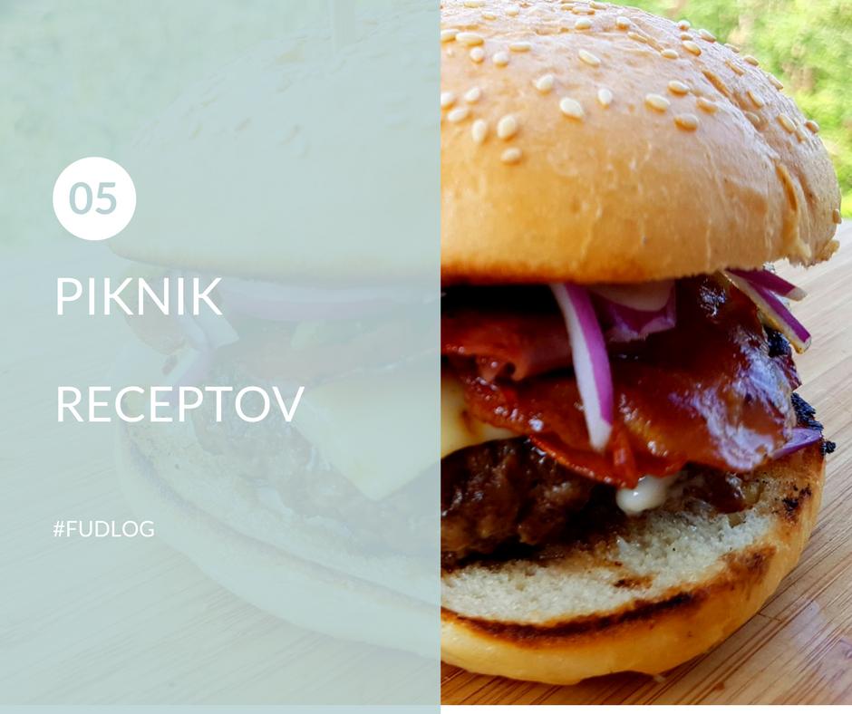 FUDLOG - 5 piknik receptov