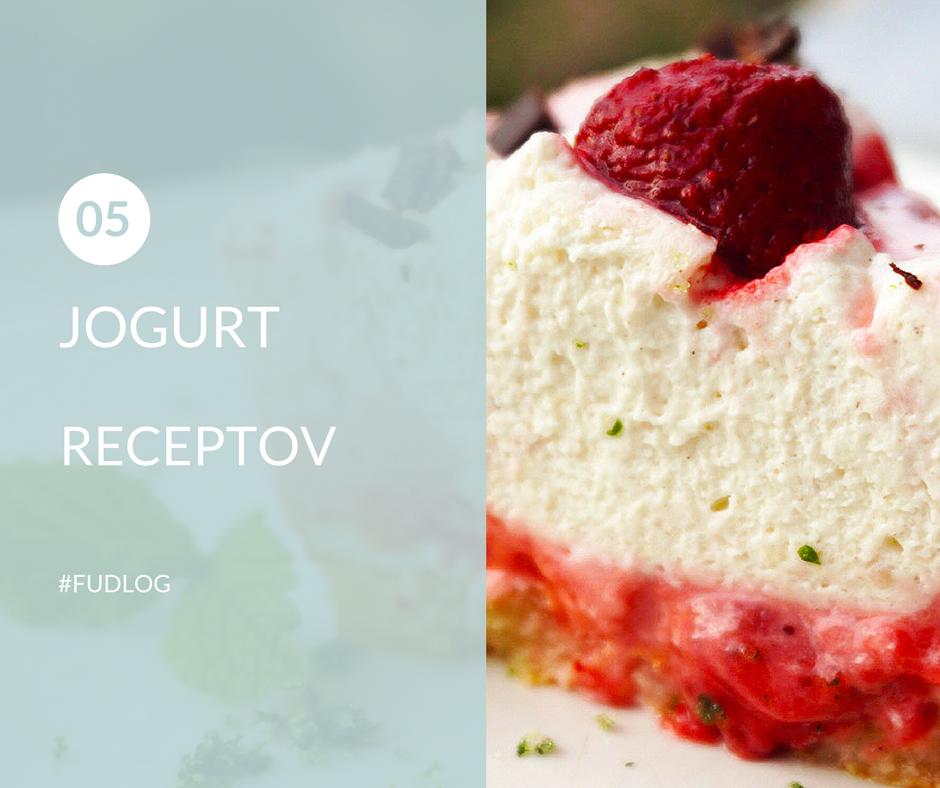 FUDLOG 5 jogurt receptov 1-2