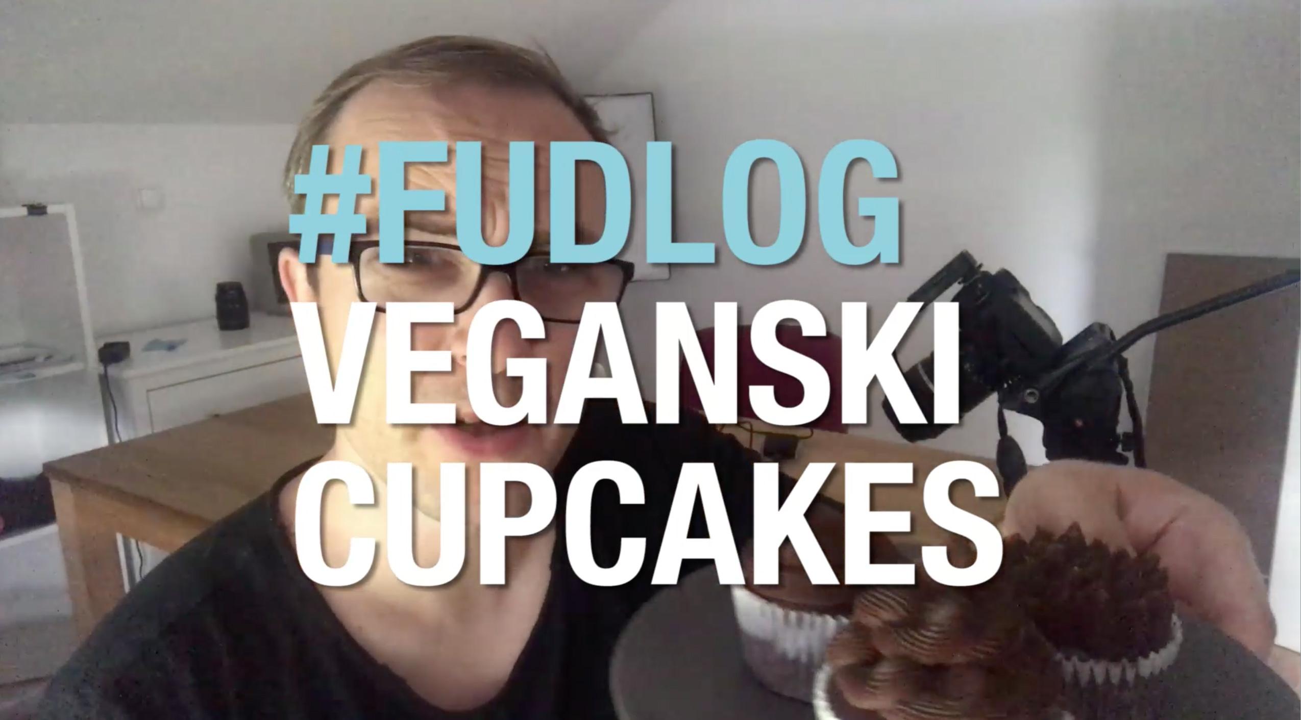 FUDLOG veganski cupcake