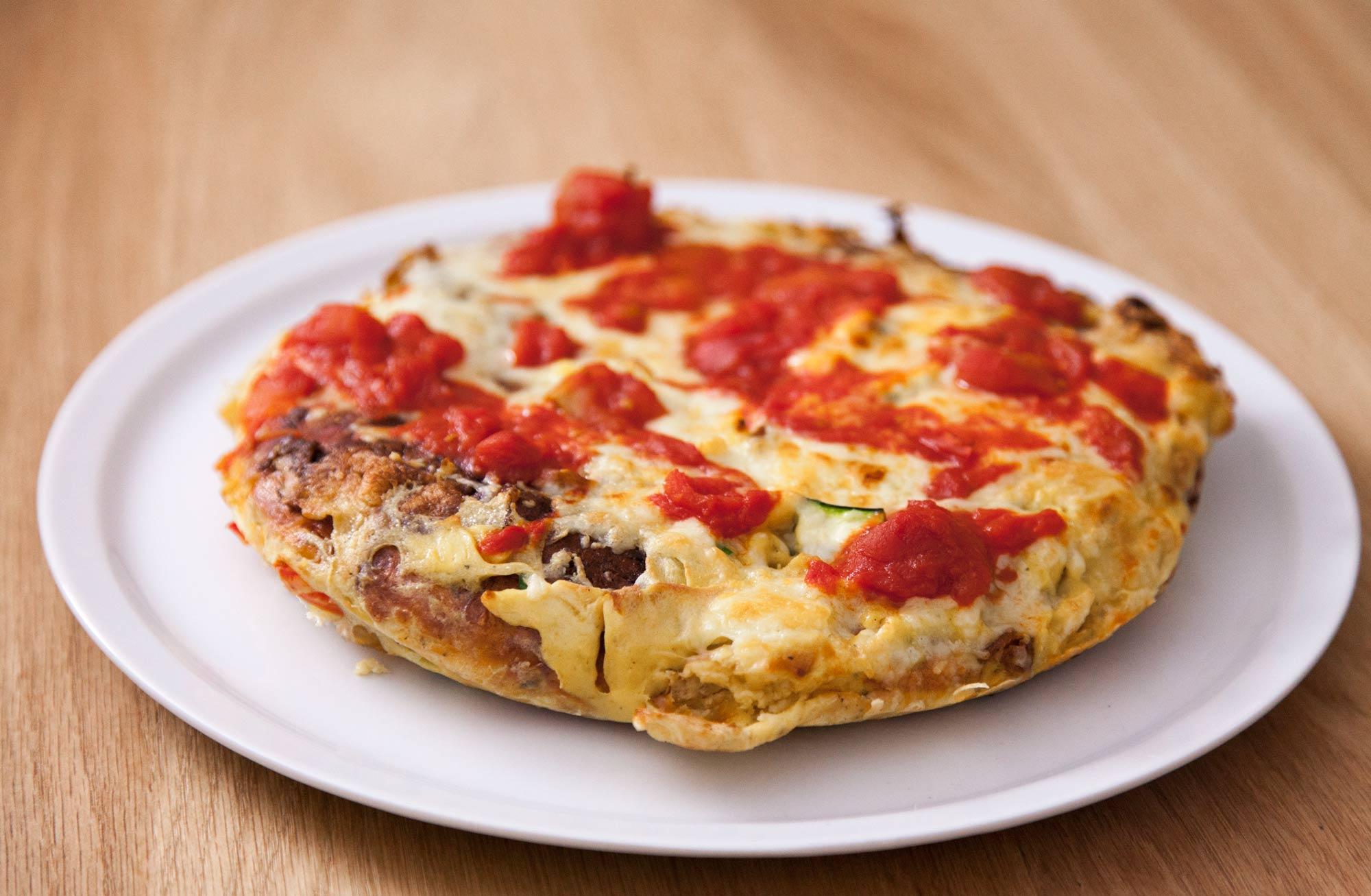 Pizza frtalja z bučkami