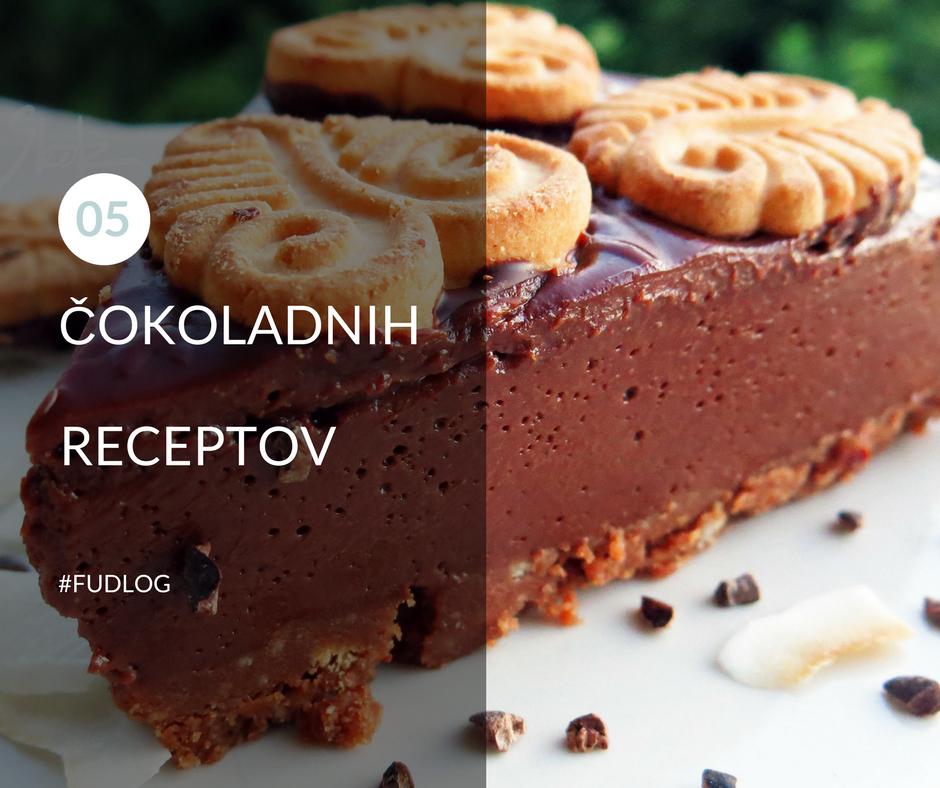 5 čokoladnih receptov