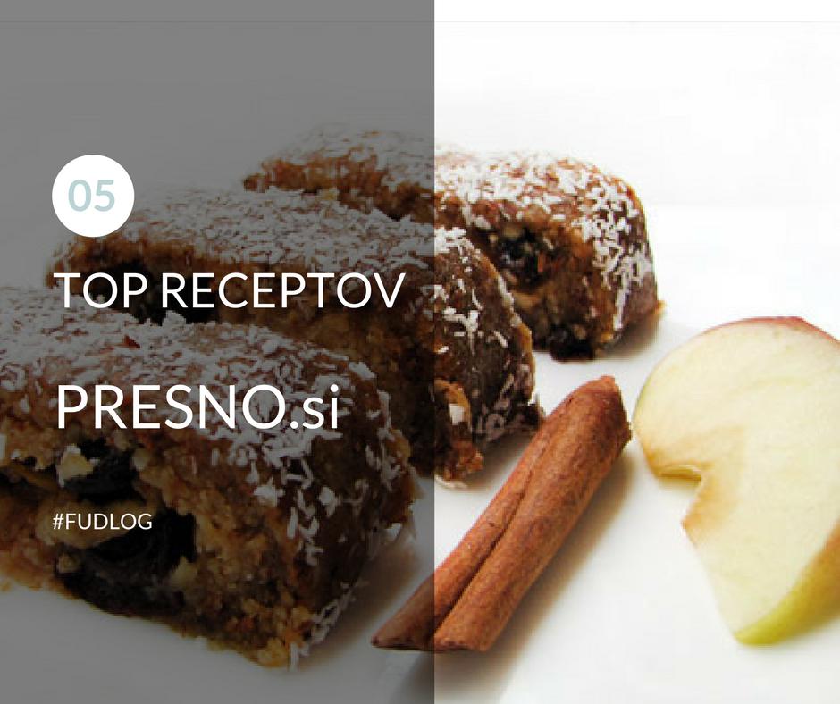 TOP recepti Presno.si