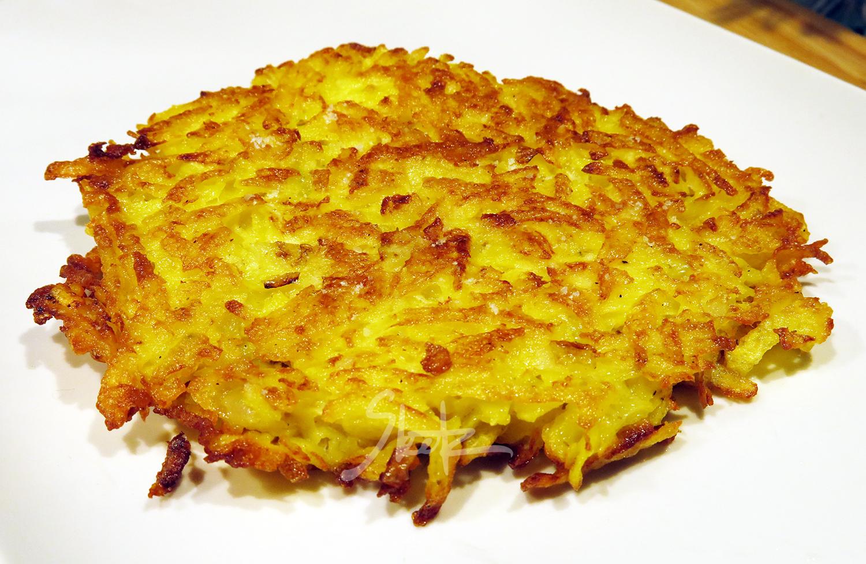 Krompirjeva polpeta - Hash brown