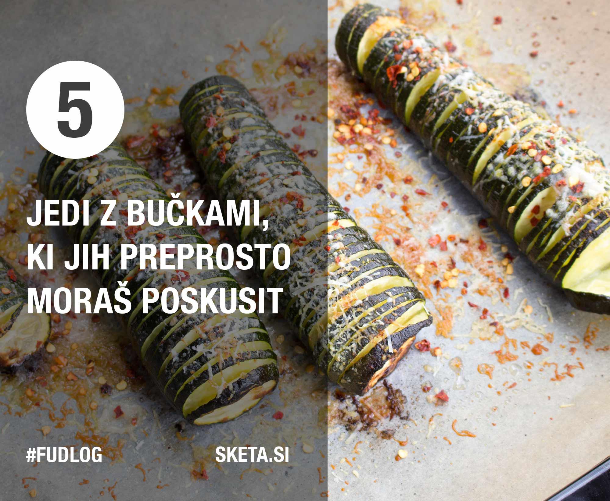 5 jedi z bučkami, ki jih moraš poskusit