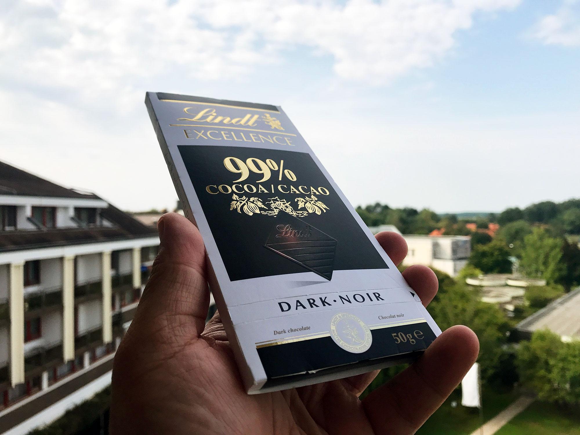 Lindt Excellence Čokolada Fudlog 99