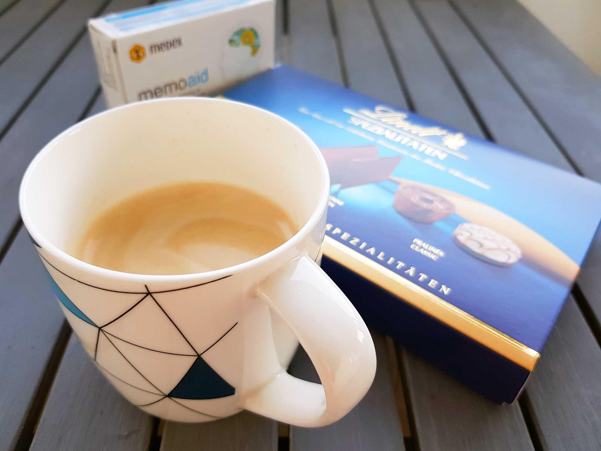 Kava memoadi cokolada
