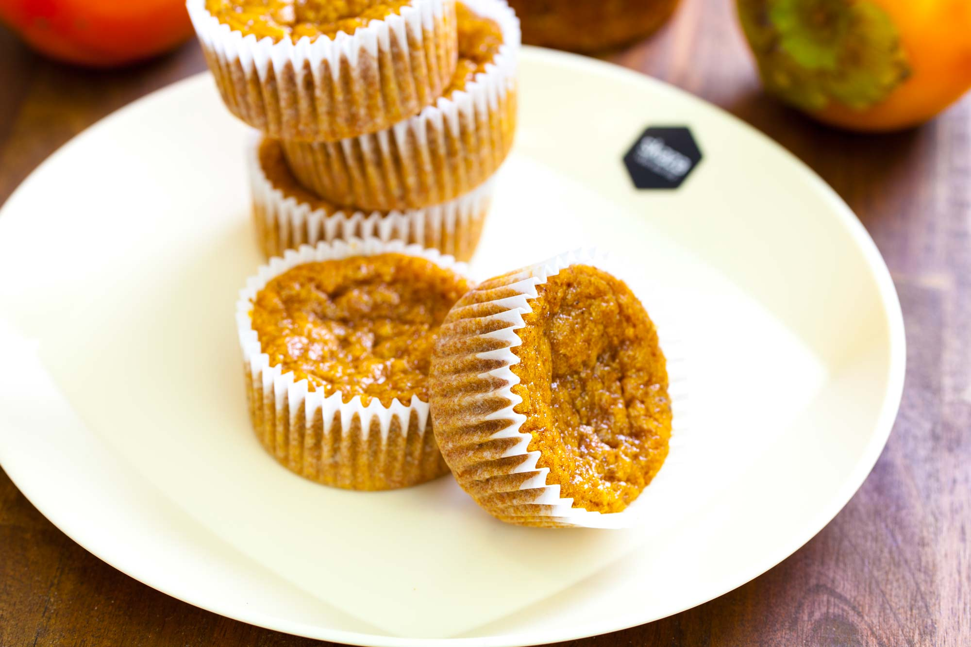 Začinjeni kakijevi muffini