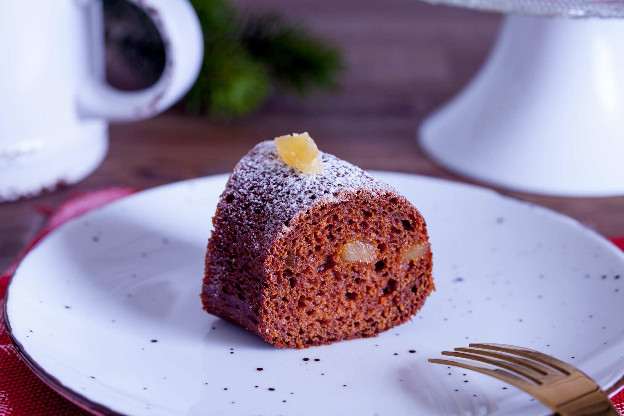 Božično začinjeni ingverjev kolač