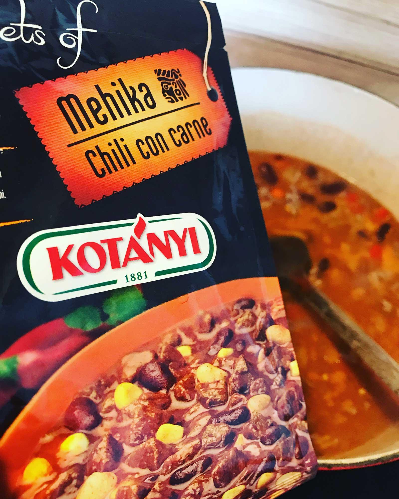 Chili con carne Kotanyi