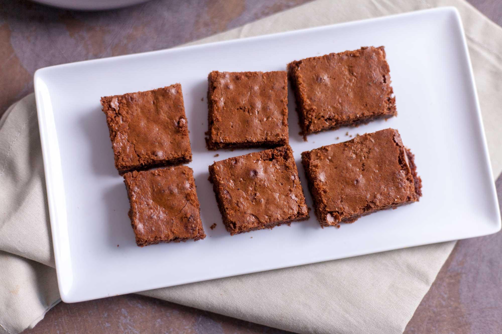 Slastni mehki browniji - topijo se v ustih