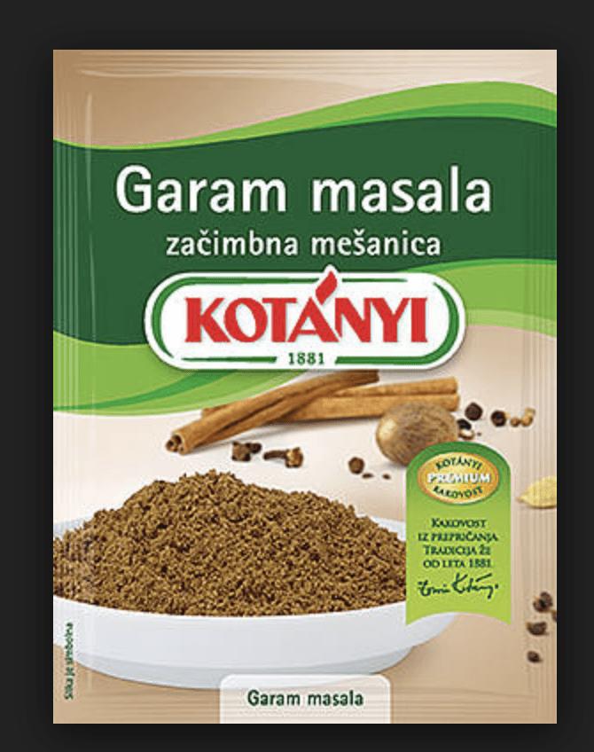 Garam masala Kotanyi