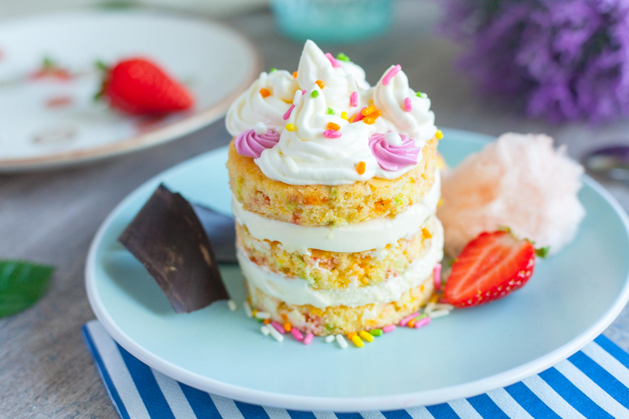 Pisana sladoledna torta