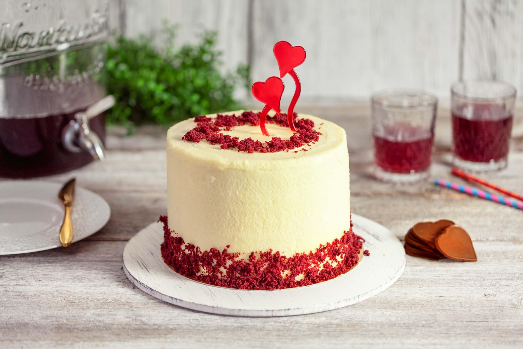 Torta red velvet (Valentin)