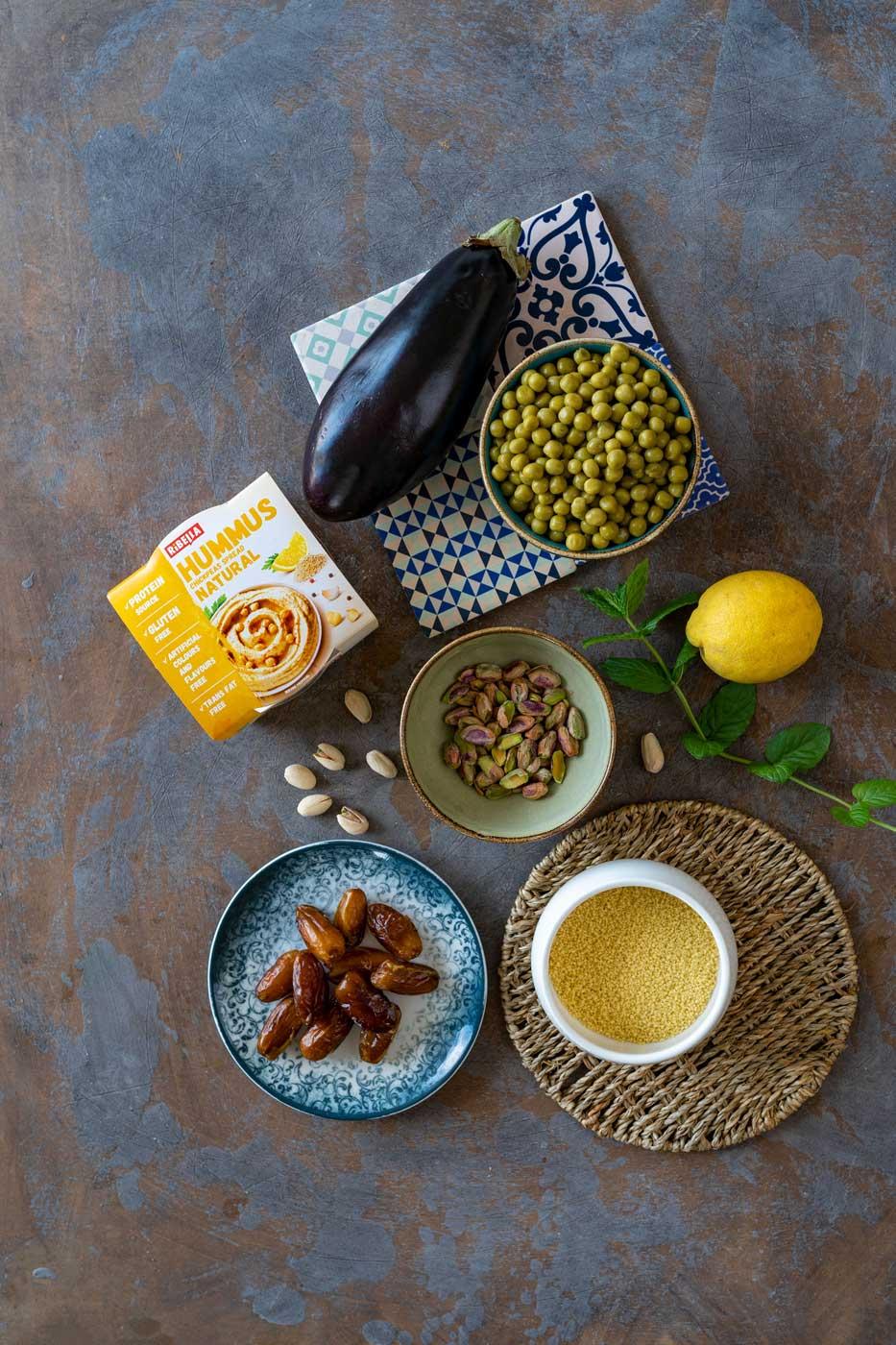 Maroška hummus omaka