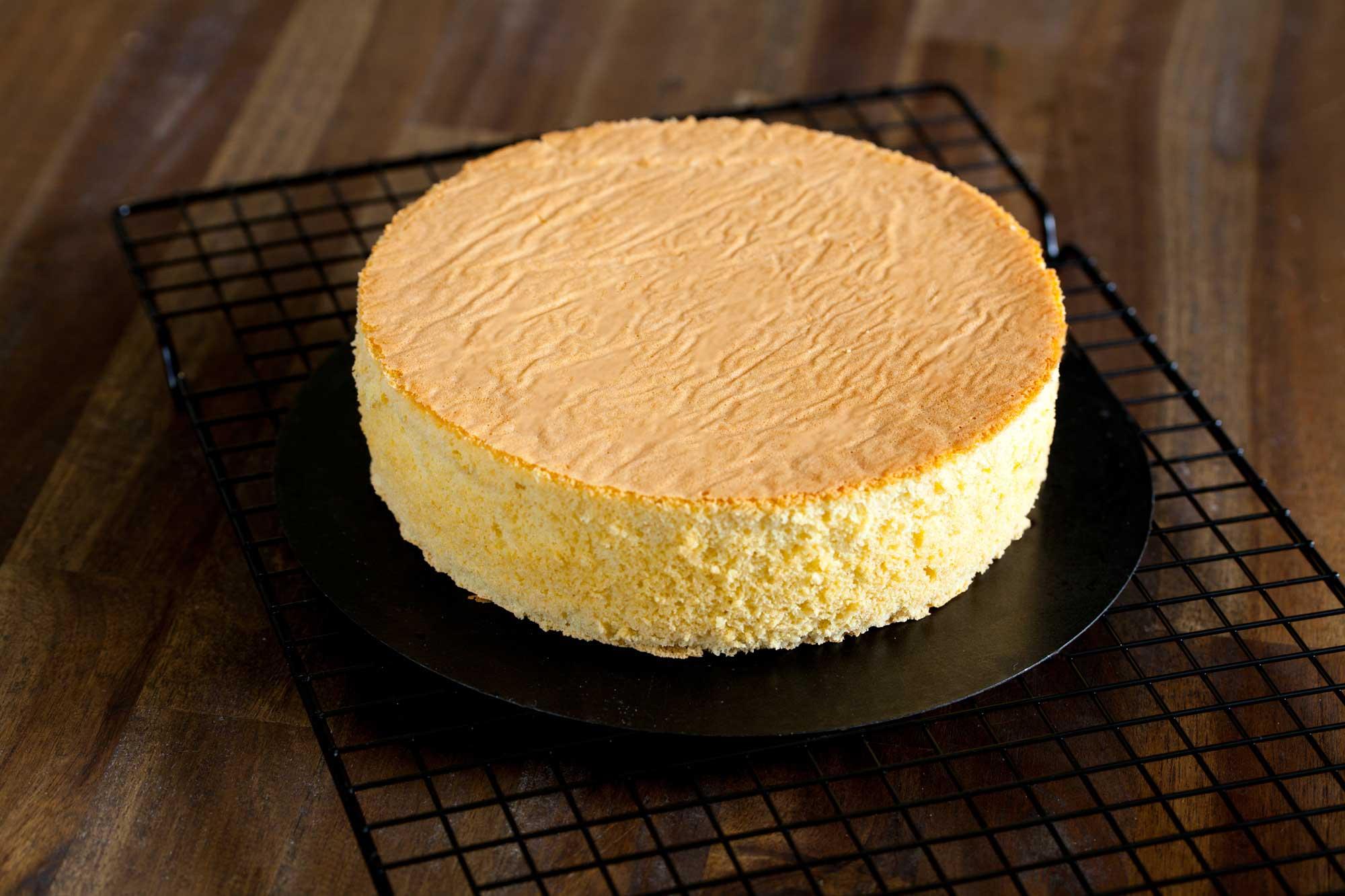 Puhast vanilijev biskvit