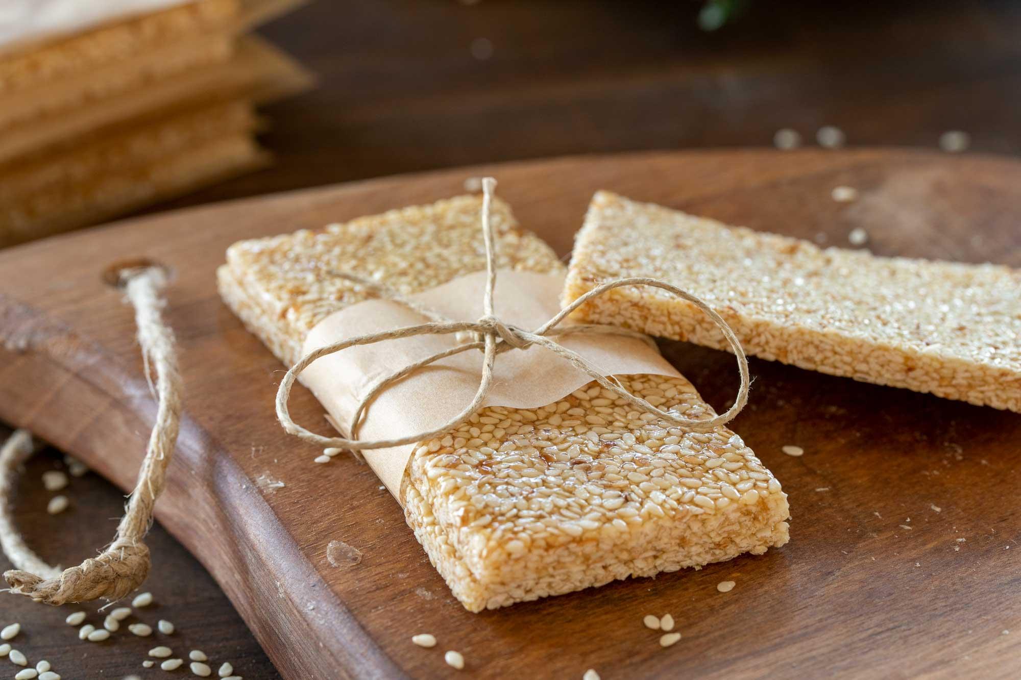 Sezamove ploščice z medom