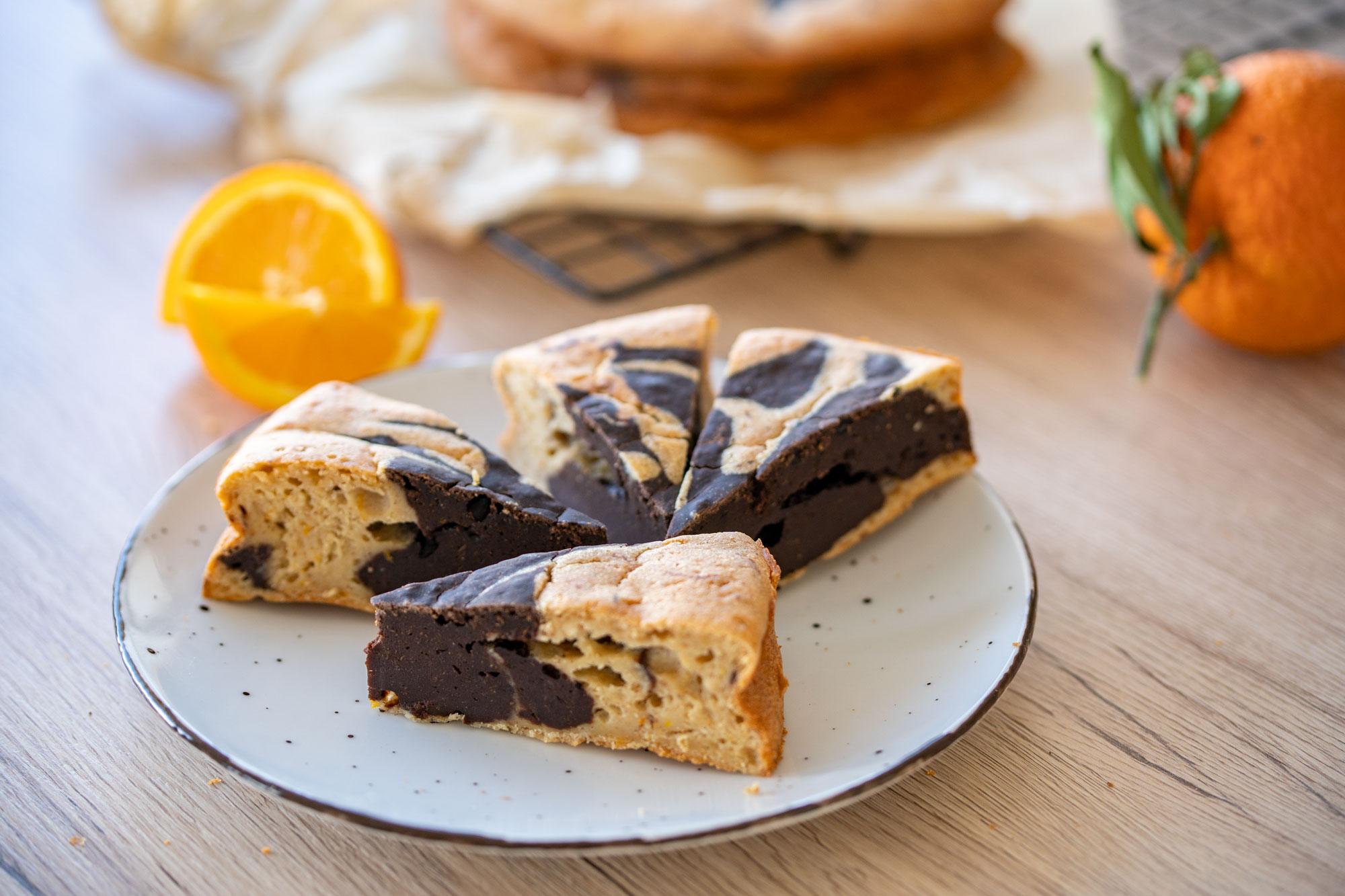 Marmorni kolač s skyrom