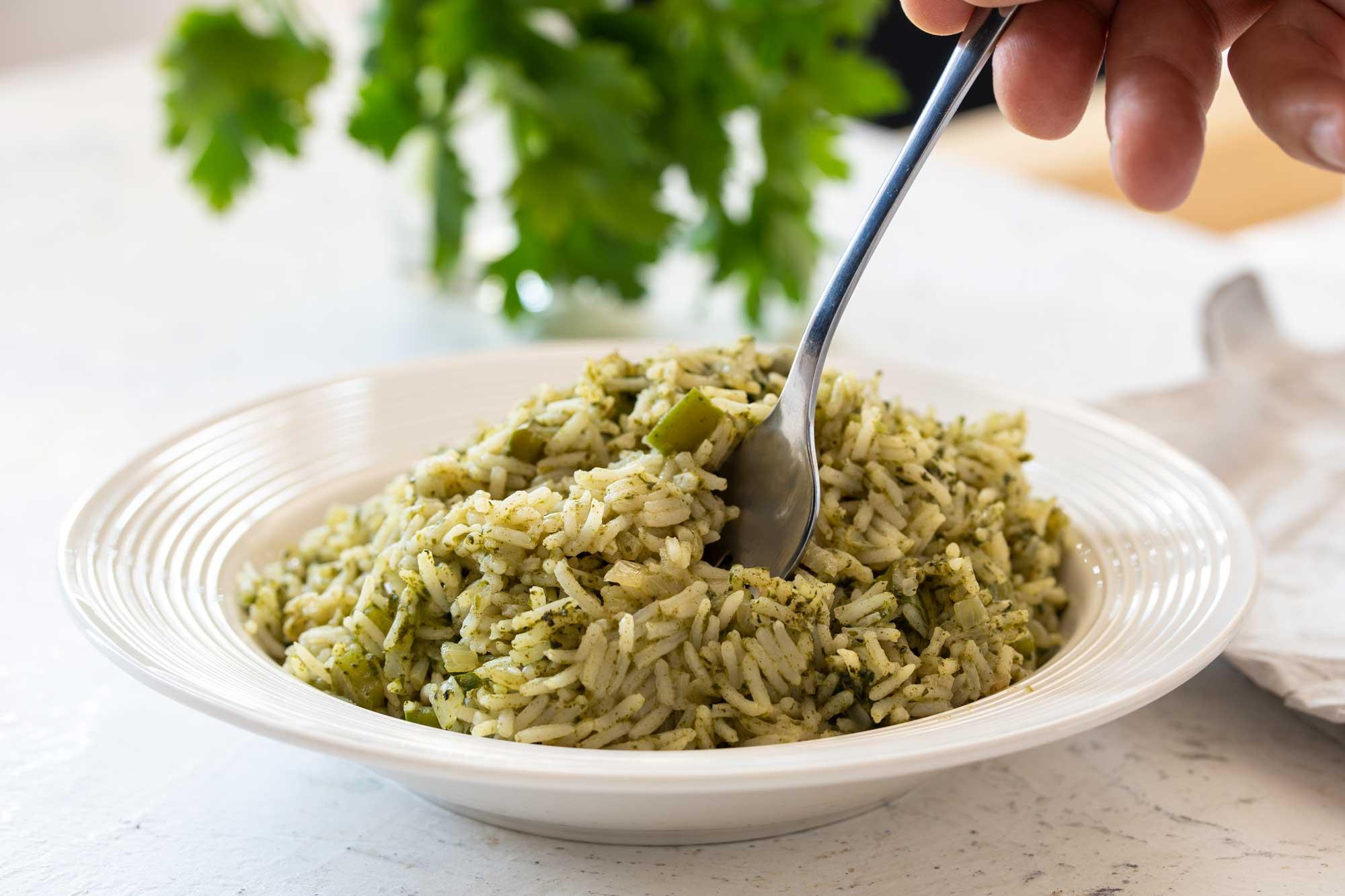 Zeleni basmati riž