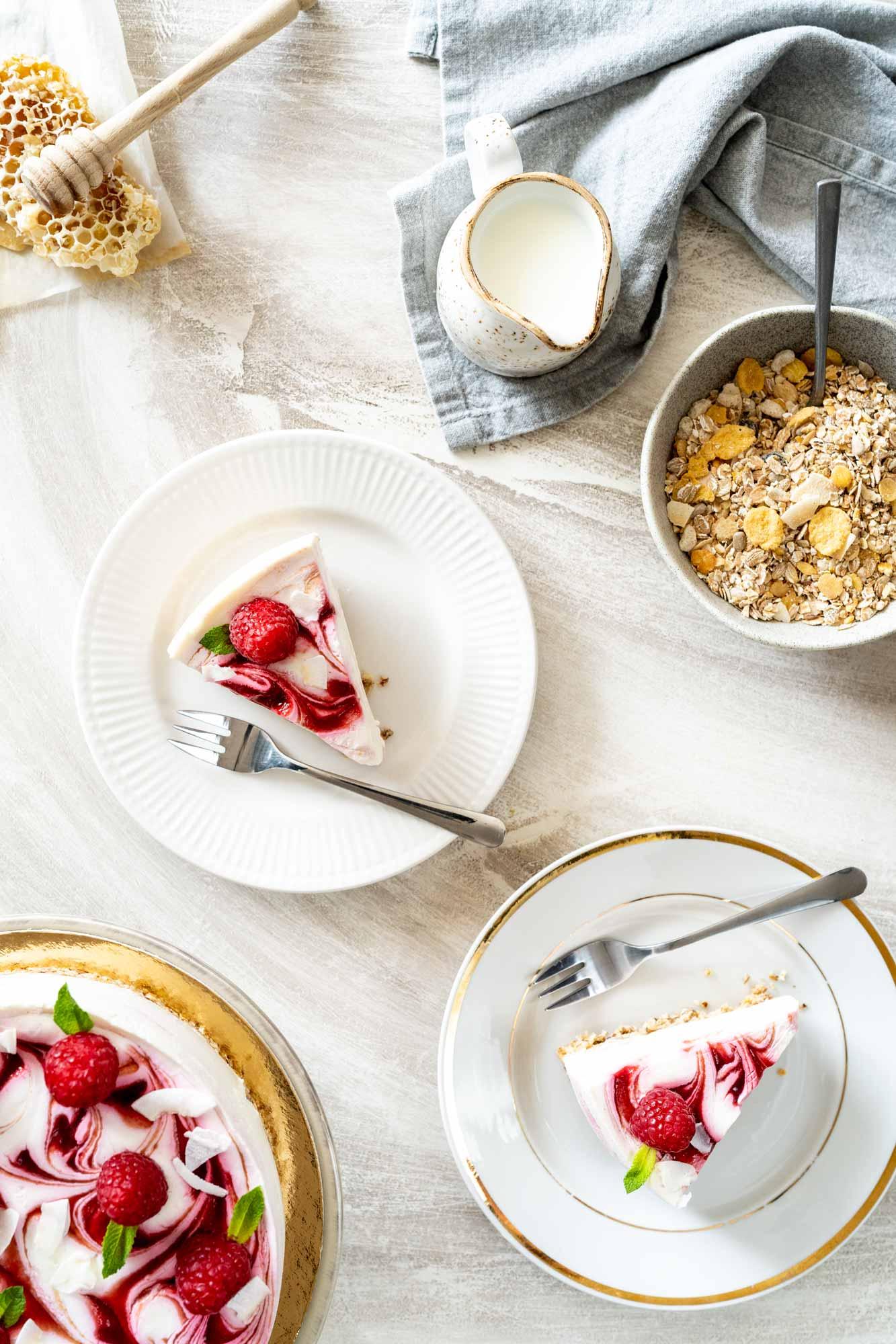 Torta z grškim jogurtom in Sport musliji