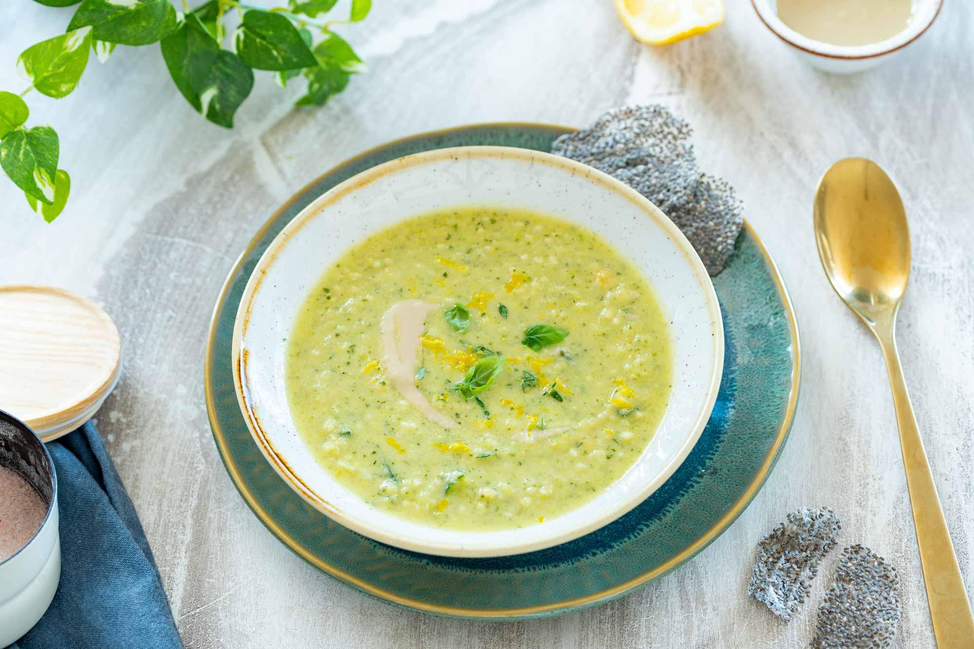 Bučkina juha s proseno kašo