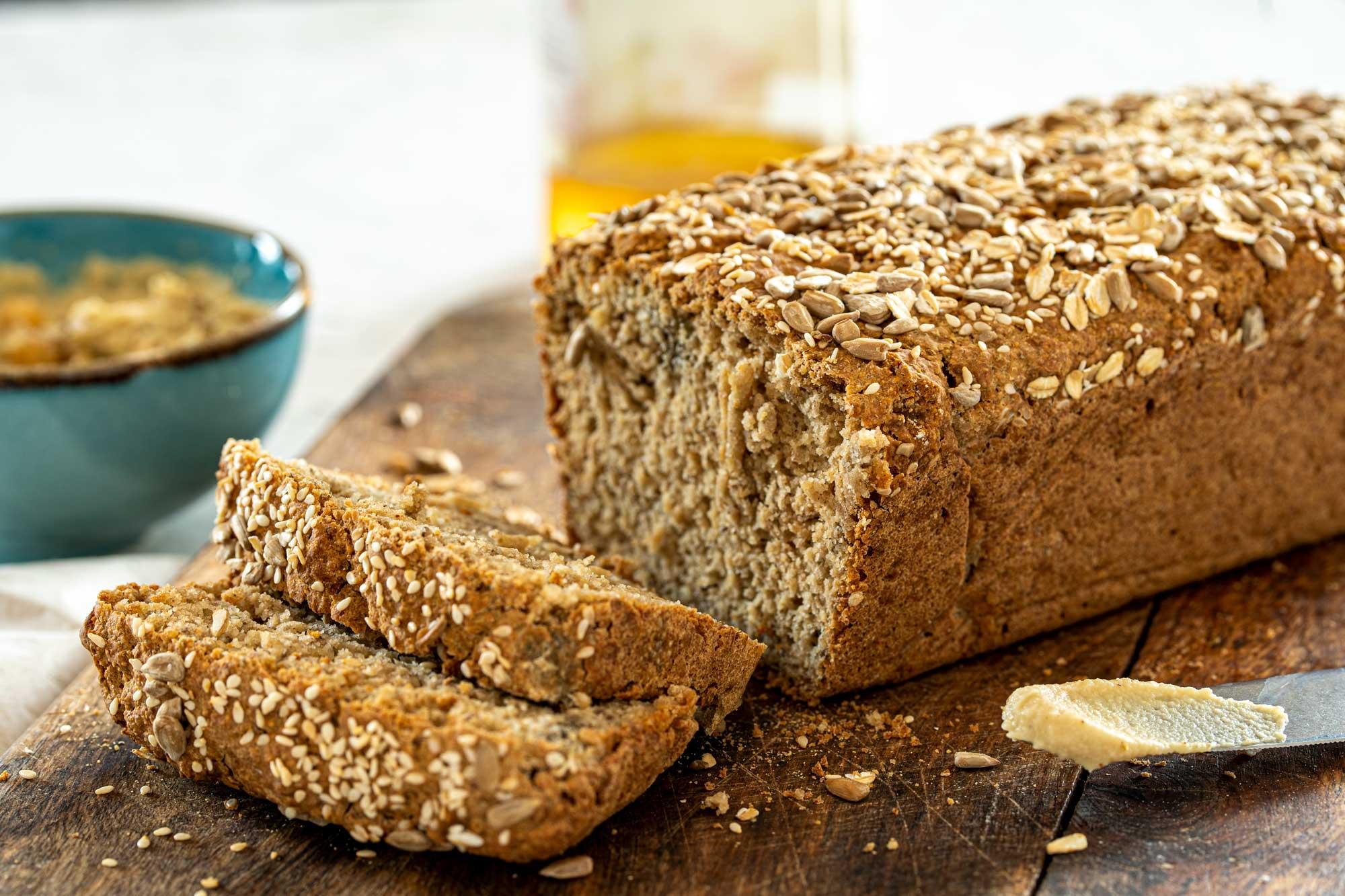 Kruh z ovsenimi kosmiči