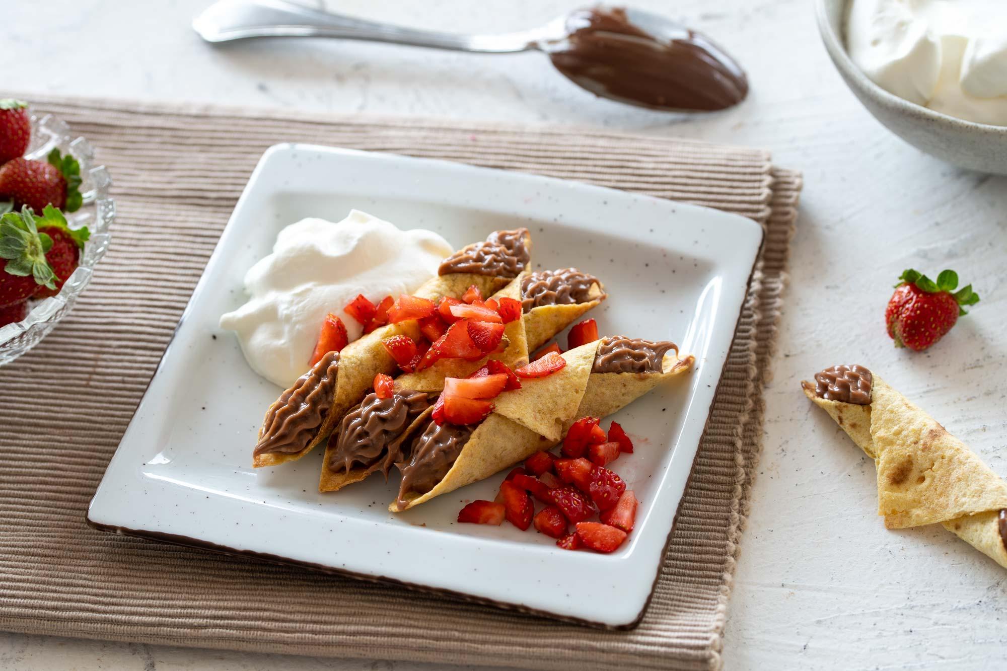 Sladki taquitosi z Linolado
