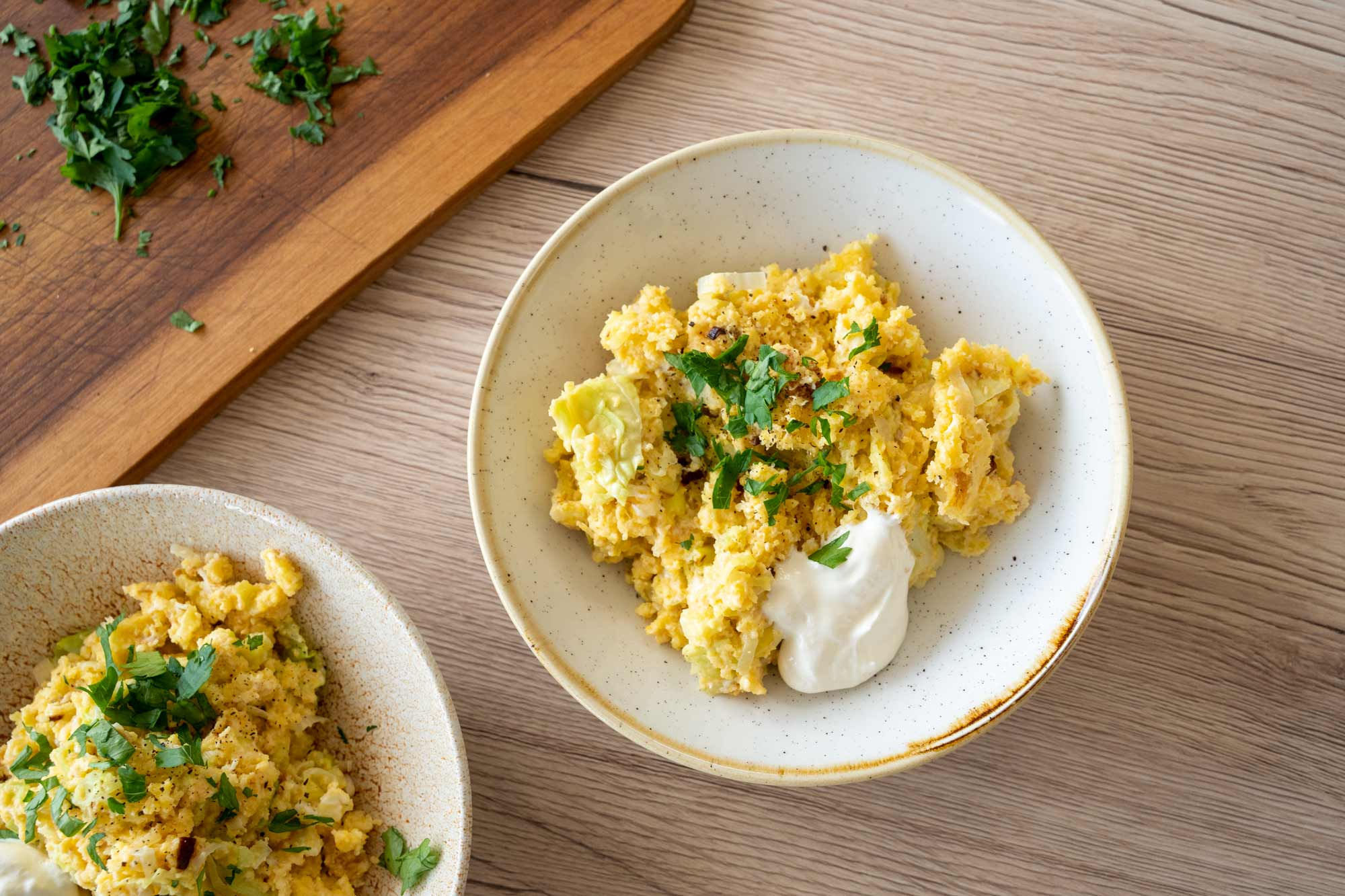 Omleta s polento