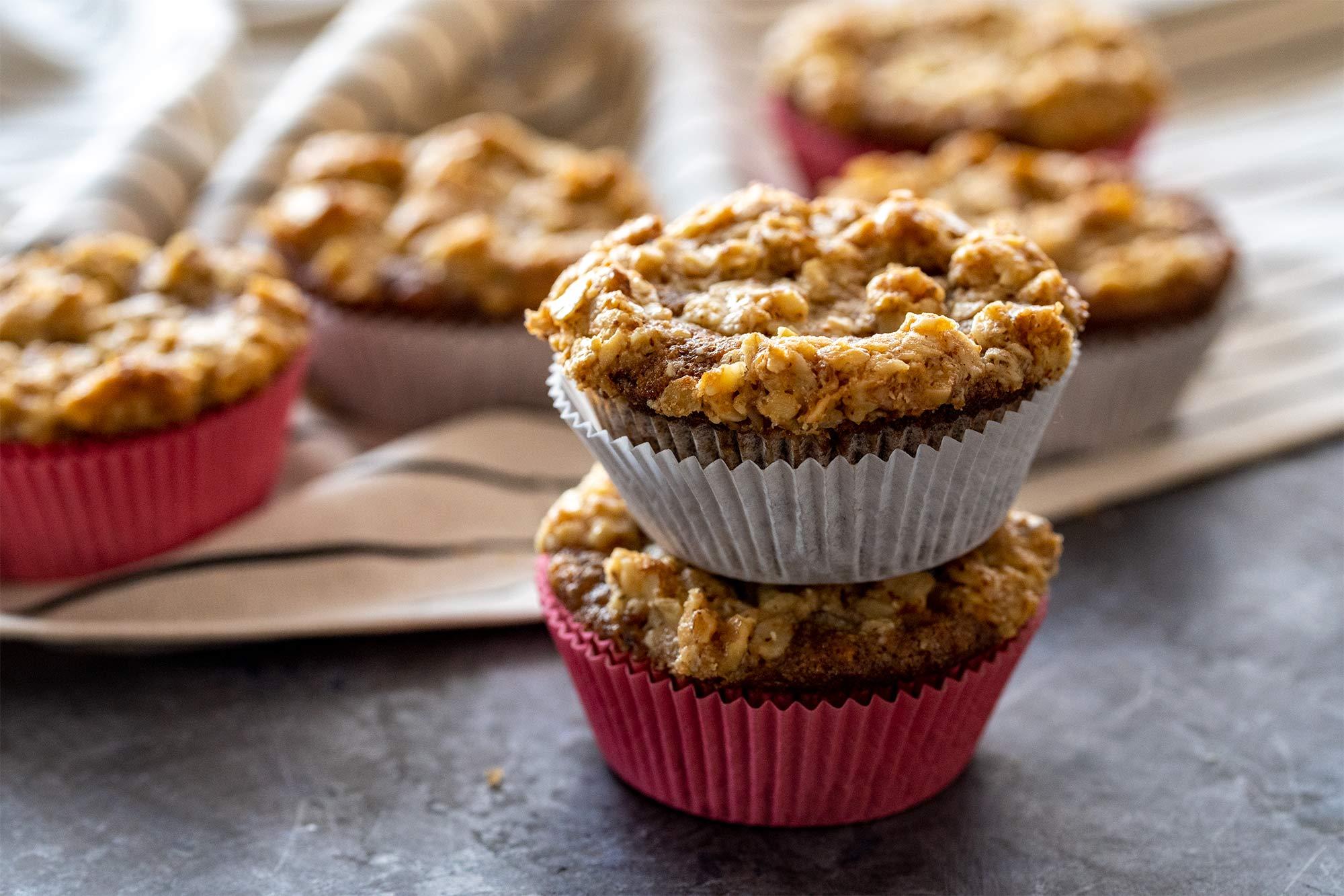 Hrustljavi bananini muffini