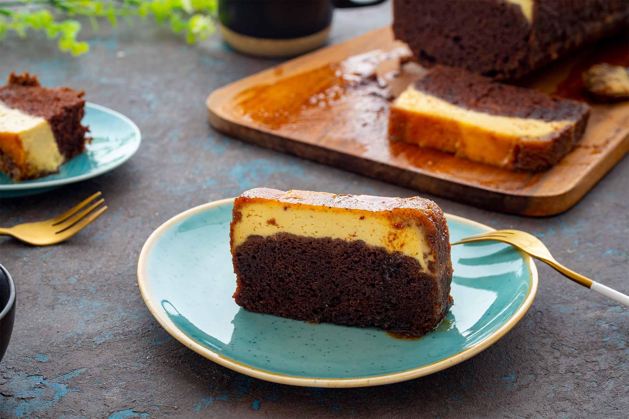 Creme brulee kolač