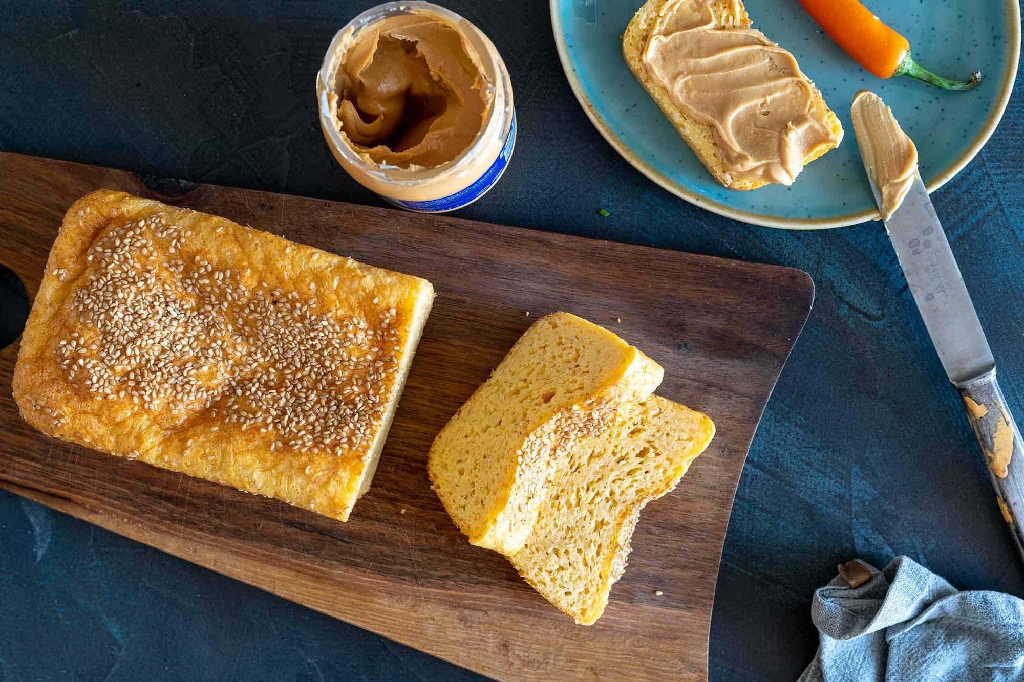 LCHF kruh brez oreščkov