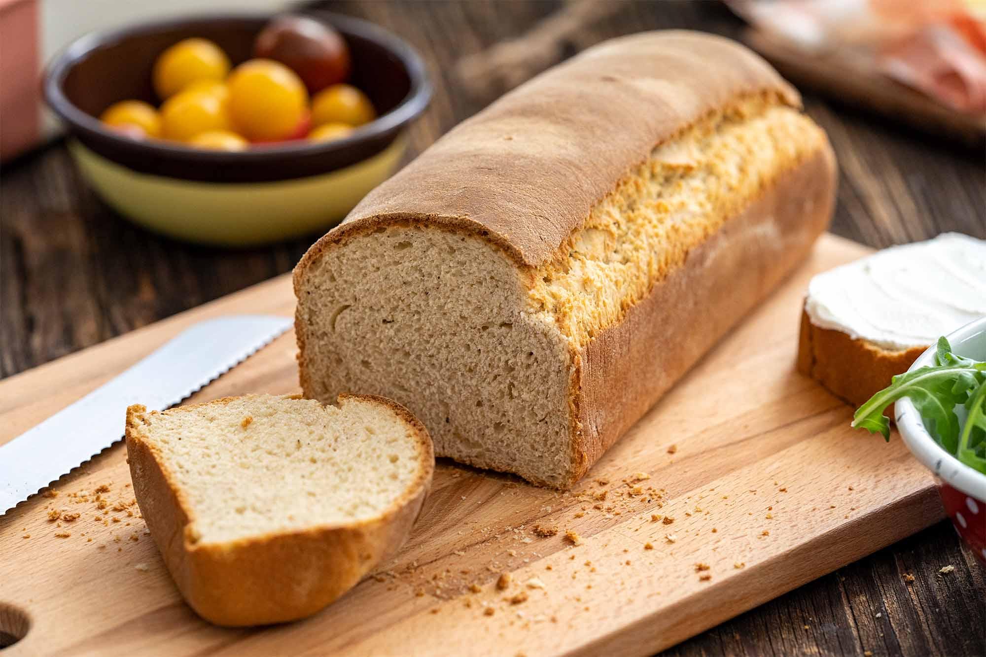 Mlečni kruh s poprom